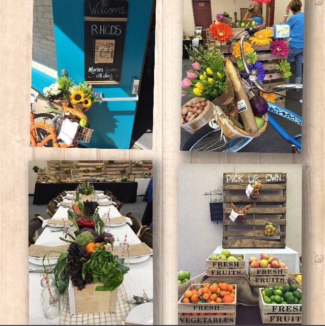 Farmers Market theme luncheon for Teacher/Staff ...