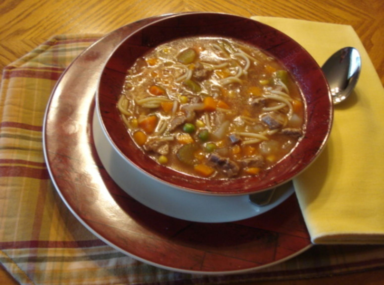 Pressure cooker Vegetable Beef Soup | Recipe | Soup