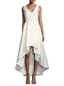 8d9c04dbe21 Calvin Klein - Hi-Lo Flared Gown