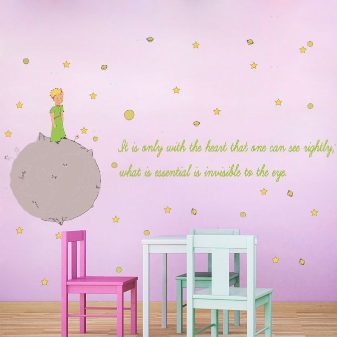 The little prince moonwallstickers com