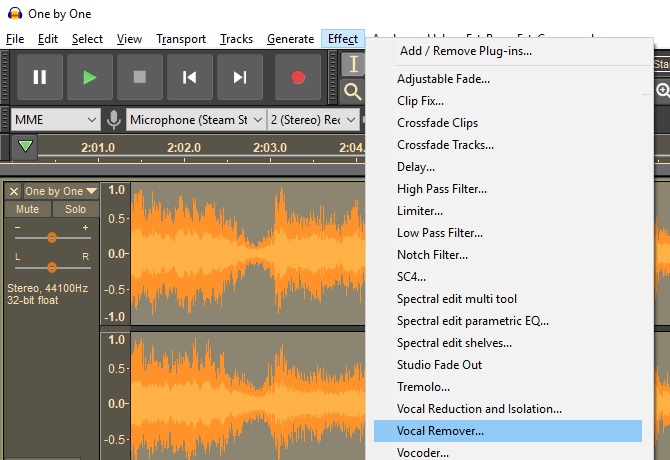 How to Remove the Vocals From Any Song Using Audacity | Nice 2