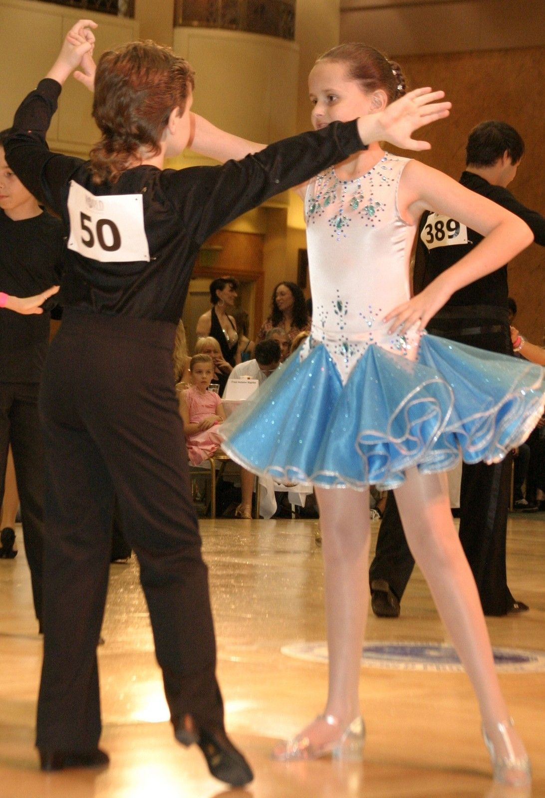 6559fbdf8 Girl Custom Pre Owned Ballroom Latin Dance Dress 10 Yrs | eBay ...