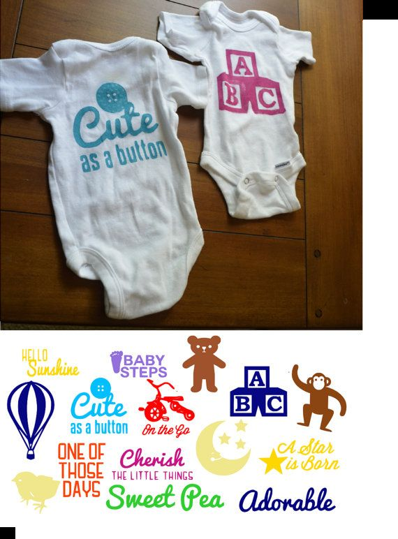 DIY Design A Onesie Baby Shower Kit FREE By SimplyCharmingParty, $19.99