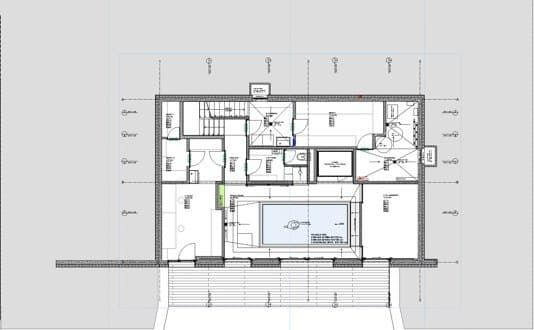 Moderna Casa De 3 Dormitorios Y 1 Planta Con 2 Cocheras Planos De Casas Fachada De Casa Fachadas De Casas Modernas Planos De Casas Modernas