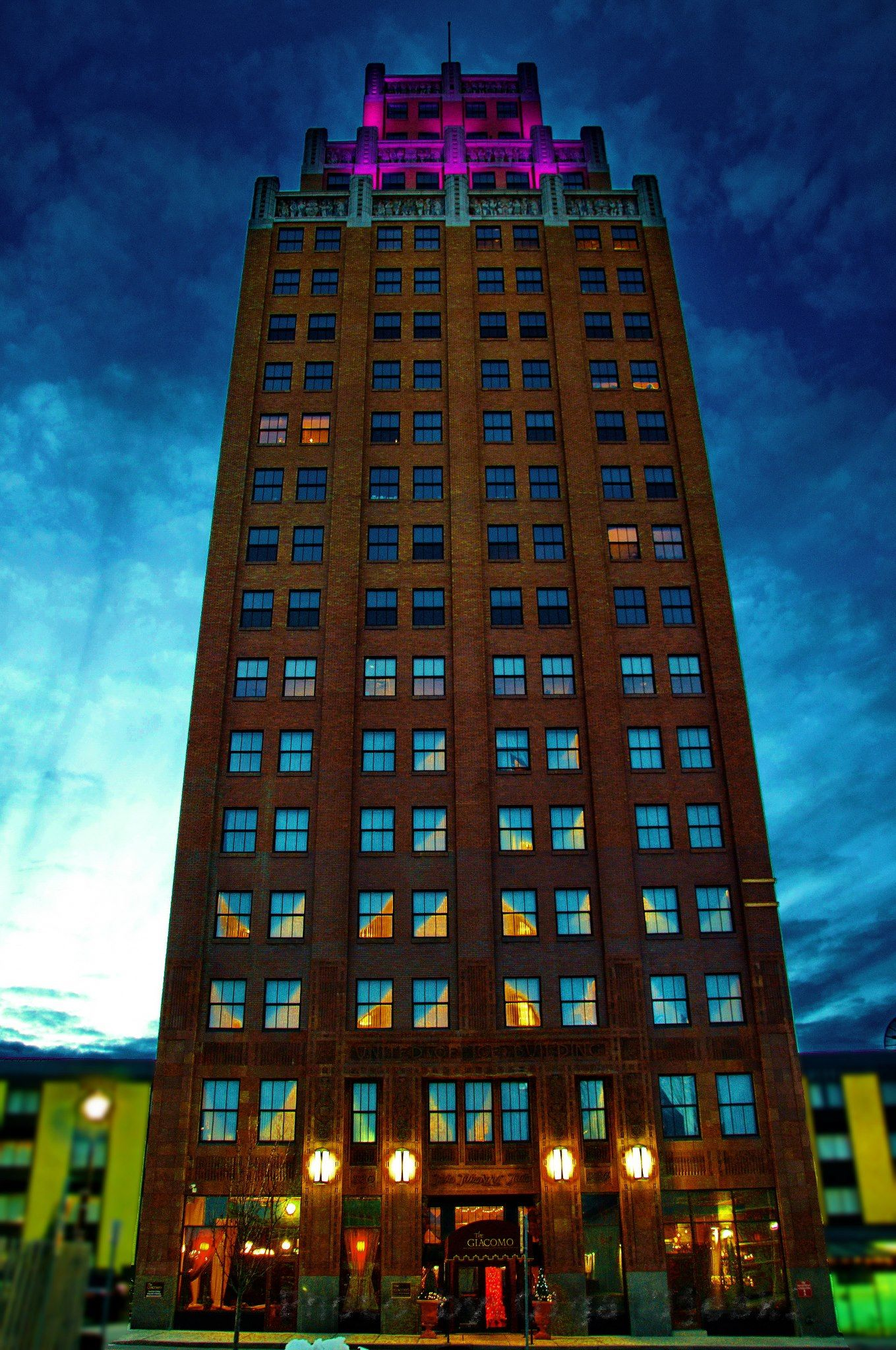 Former United Office Building Now The Number One Boutique Hotel In Niagara Falls
