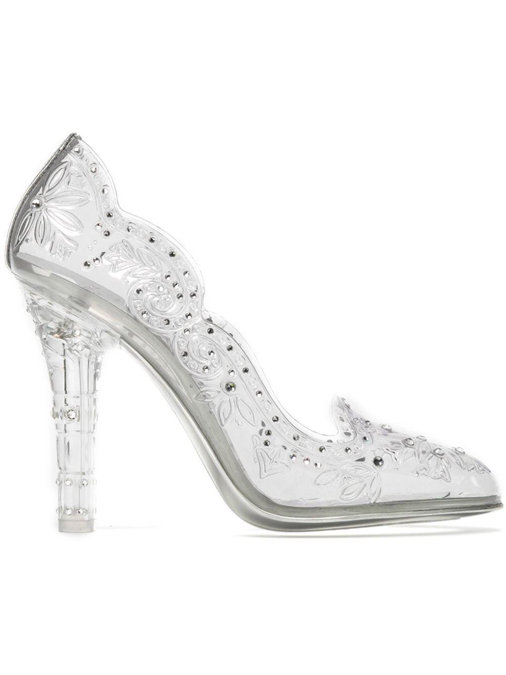 a97dcd7478d Dolce & Gabbana | Shoes | Floral shoes, Clear heel shoes, Floral ...
