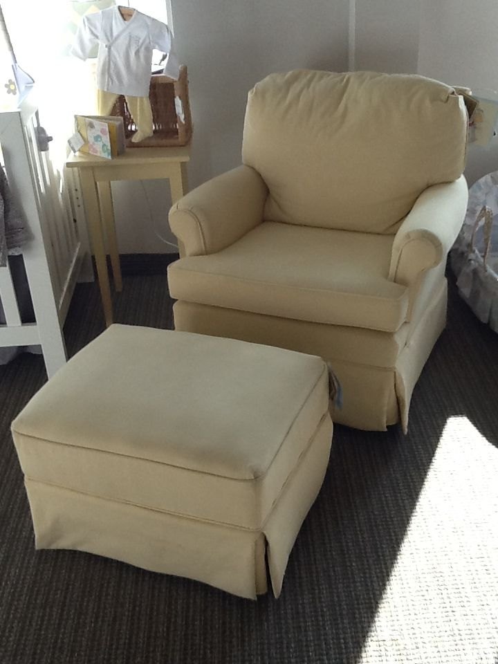 Best Chairs   Patoka Swivel Glider With Ottoman Shown In Maize.