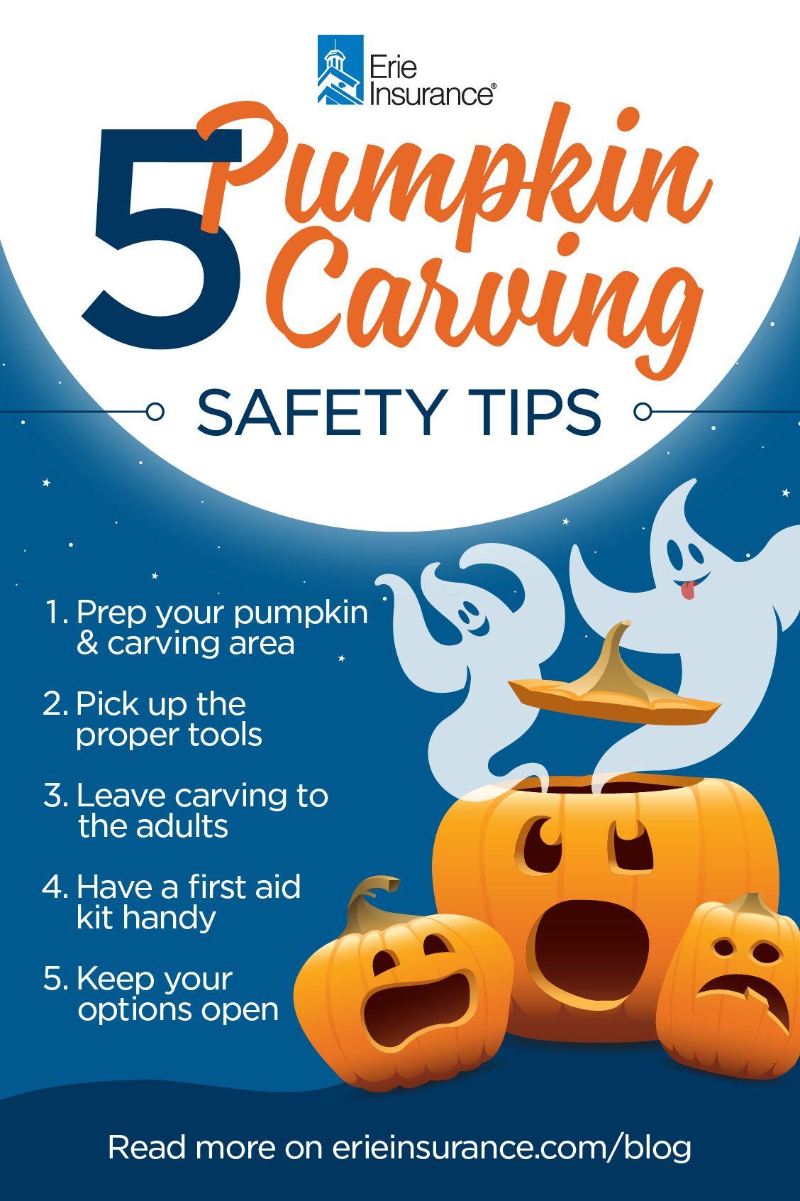 5 Tips for Safe Pumpkin Carving Pumpkin carving, Safe