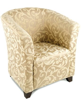 Relaxateeze Torino Fabric Club Chair Relaxateeze Club Chairs