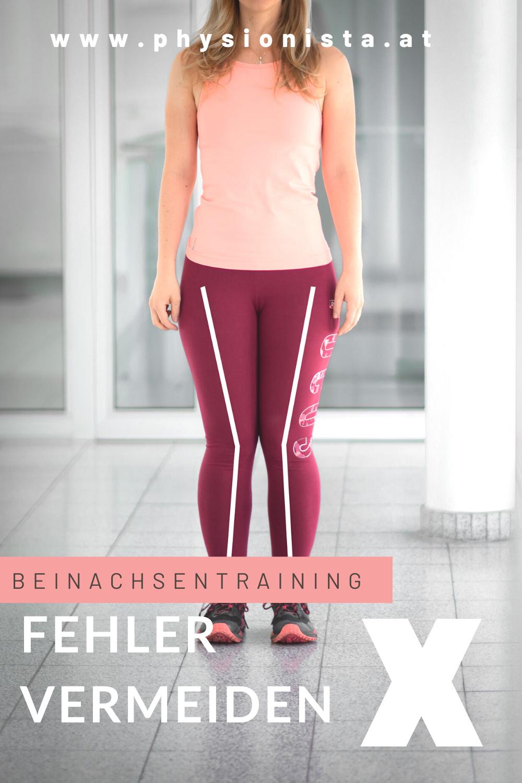 Die wichtigsten Fakten über die Beinachse im Sport und Alltag! Knieschmerzen beim Laufen, Stiegen steigen oder Wandern haben häufig ihren Ursprung an einer fehlenden Stabilität der Beinachse. Hier findest du alles über das Thema Beinachsentraining und warum es wichtig ist einfache Übungen in den Alltag einzubauen!