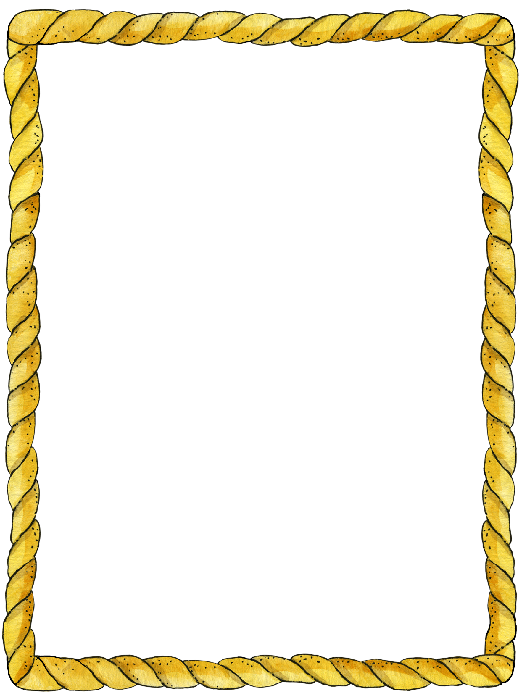 Rope frame border and corner designs pinterest rope for Paper border