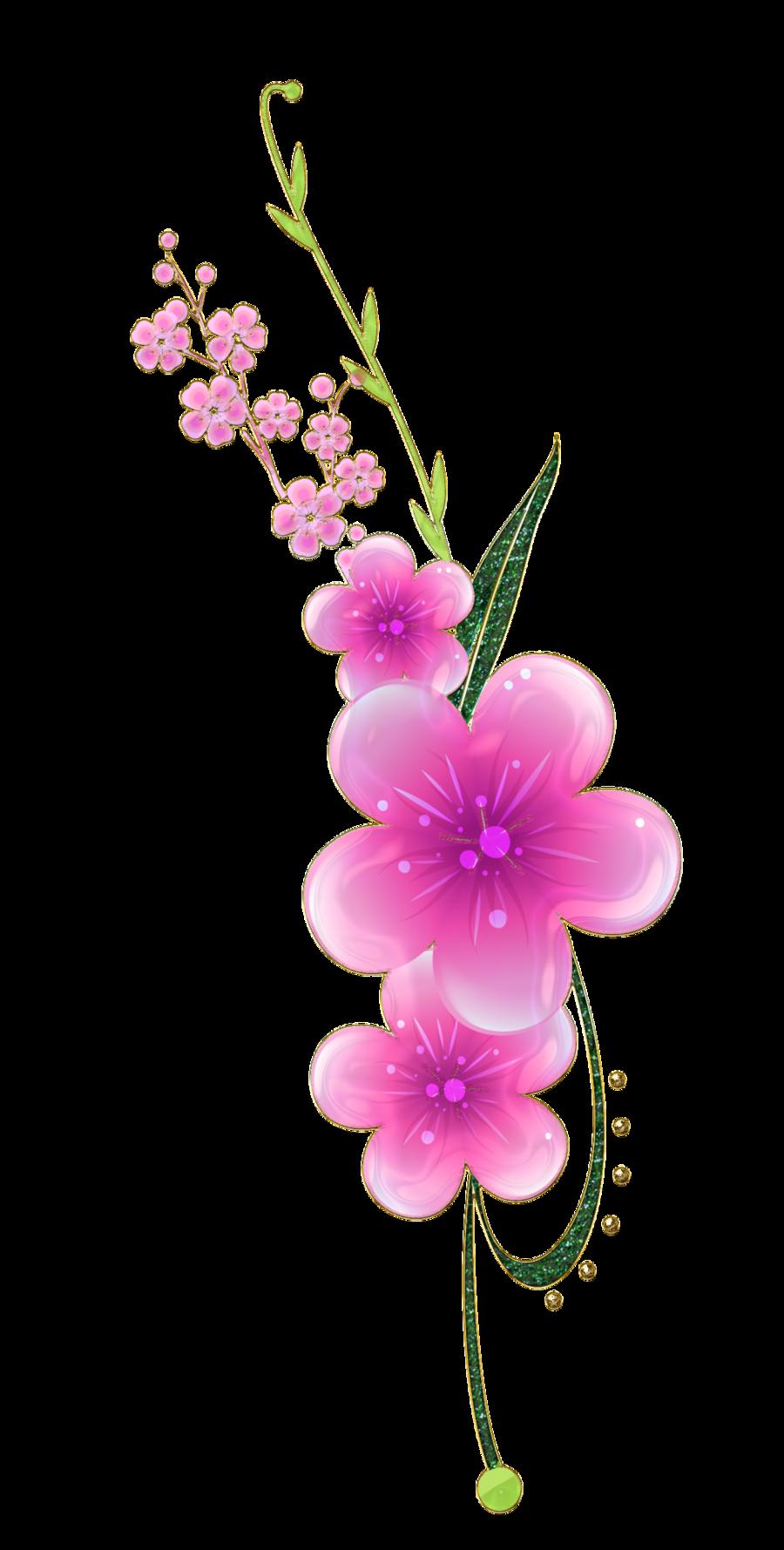 Sweet Pink Flowers\