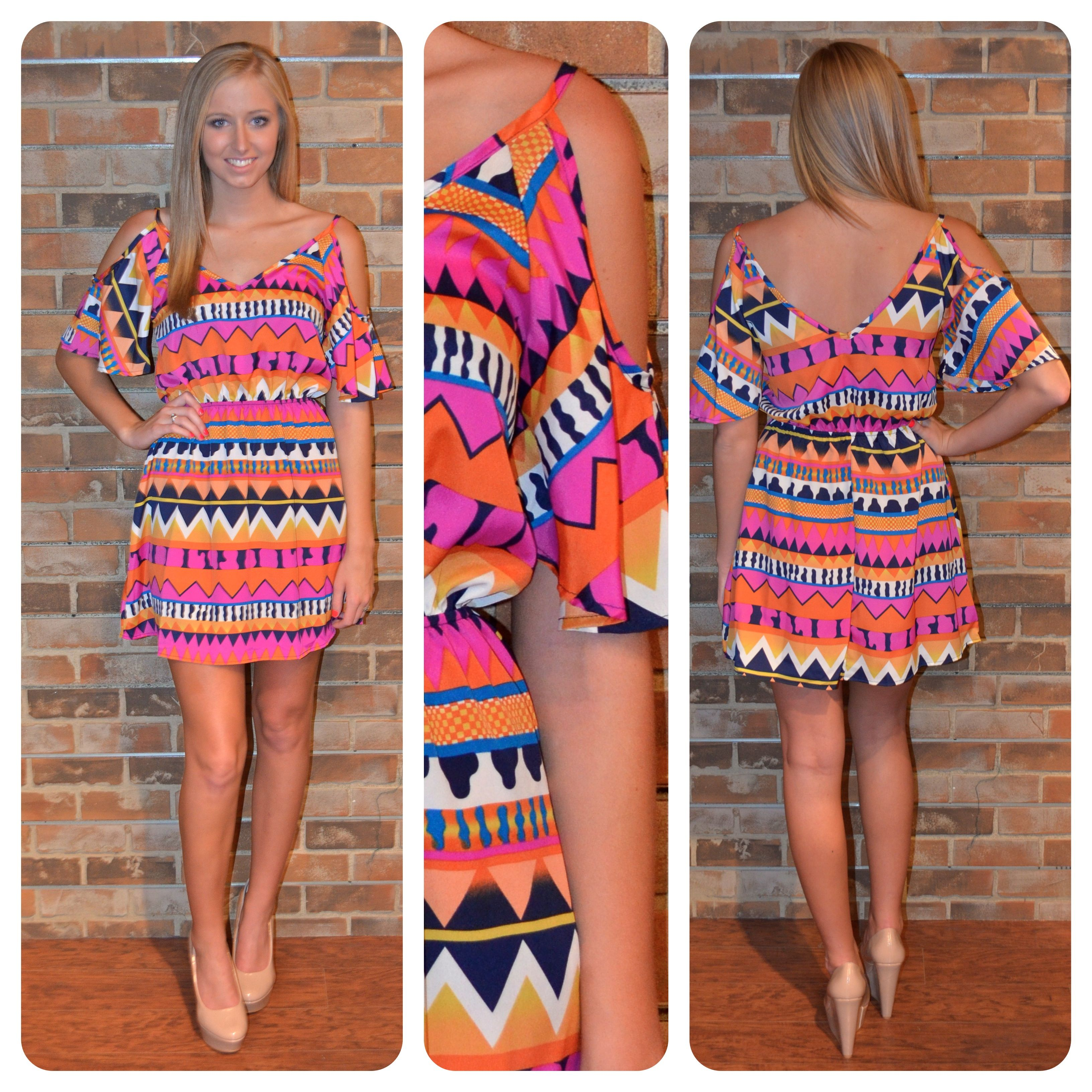 cute dress!  i have a shirt in this print and LOVE it!