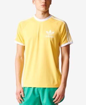 yellow and black adidas t shirt