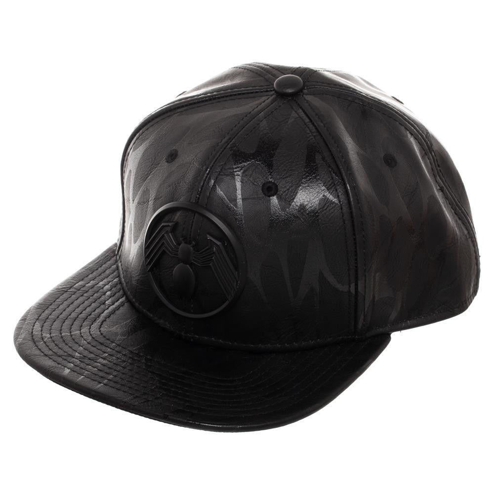 Marvel Deadpool Baseball Cap Metal Badge Logo Official Black Snapback