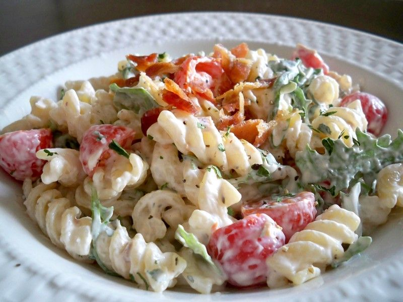 BLT Pasta Salad and many more...