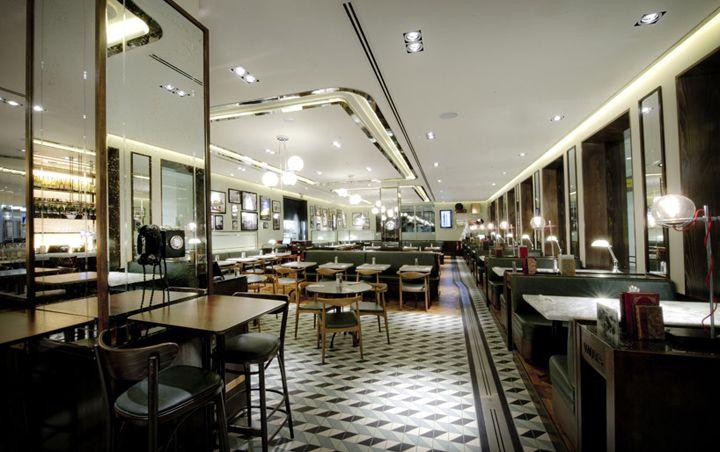 Oriel Restaurant: Afroditi Krassa, London | #DesignLUX : Airport ...