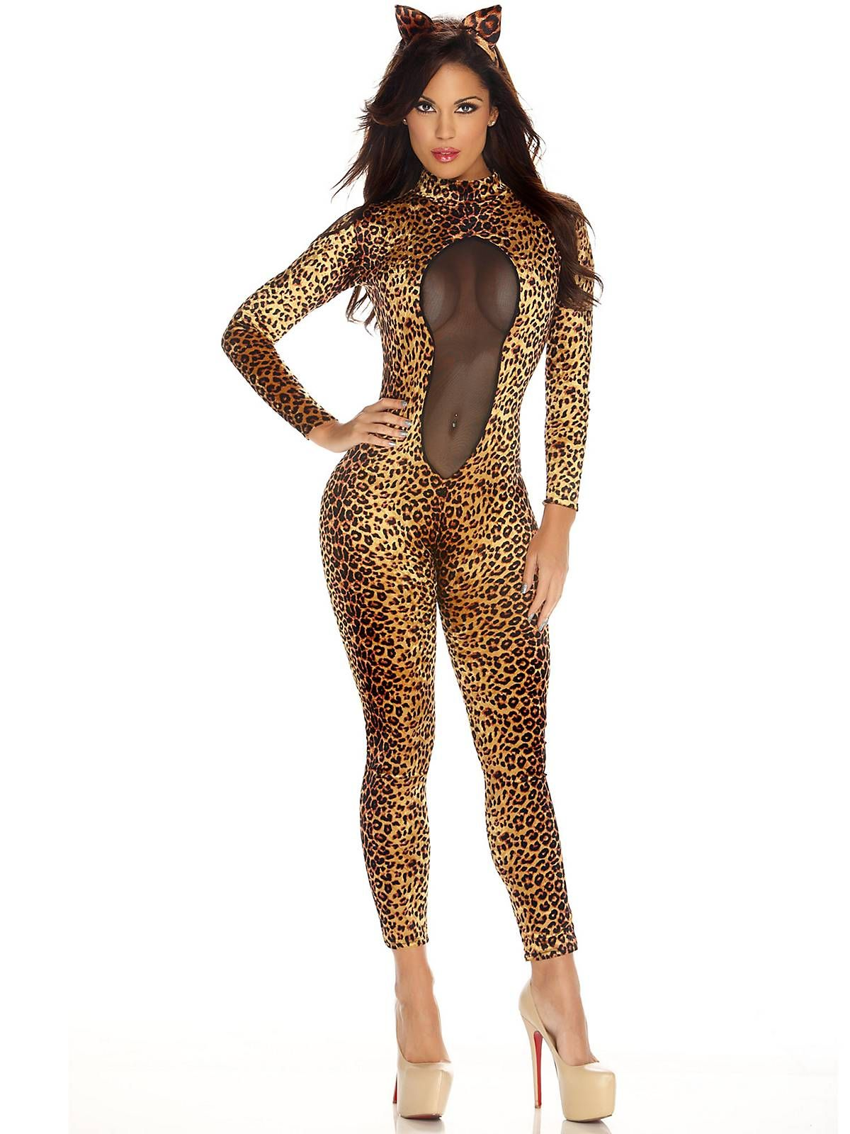 0d77a0f1c125 Sexy Women's Kitty Kat Costume | Costumes | Sexy cat costume ...