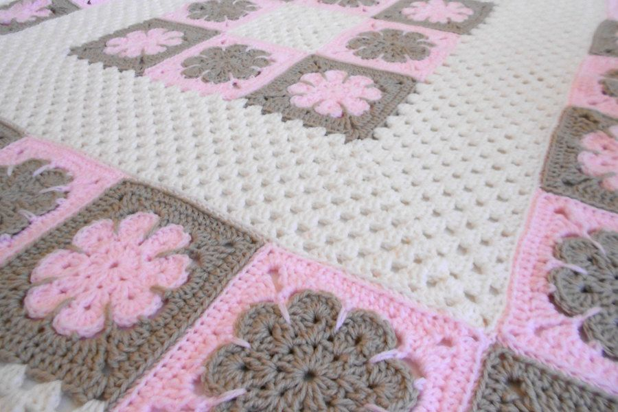Crochet Pattern - Easton Baby Afghan Pattern - Blanket Babyghan ...