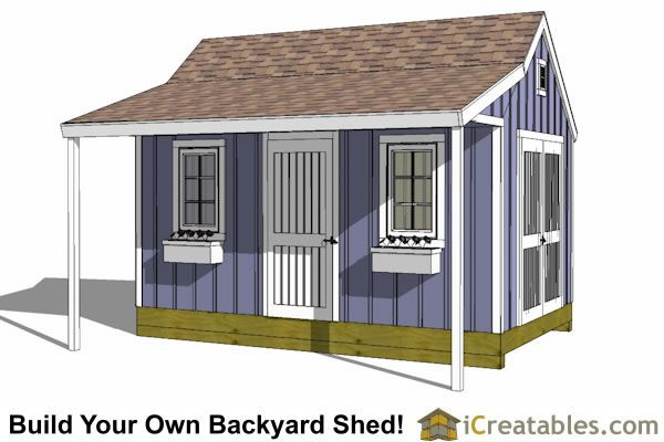 plans moreover cottage garden shed decorating ideas on backyard shed with porch plans greenhouse plandlbuild