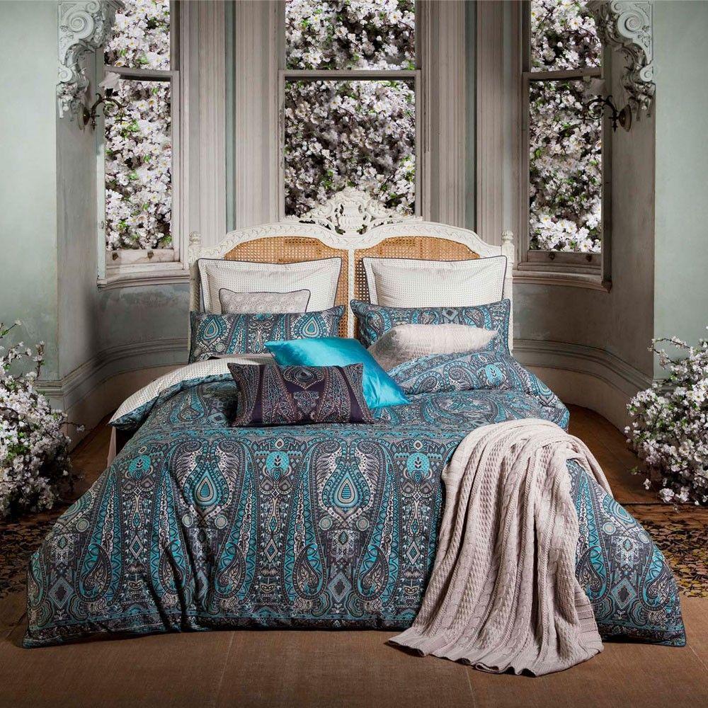 Paisley Bedroom Elegant Paisley Bedding Kas Persia Ornate Bedding Sets At Bedeck
