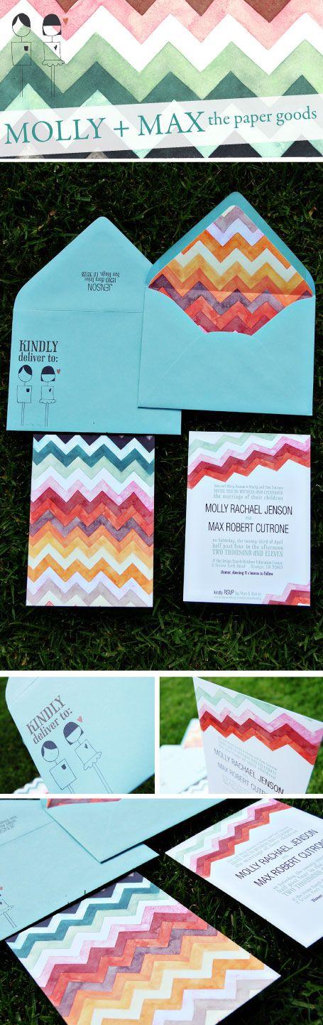 invitación estampado chevron pattern save the date wedding invitation miraquechulo