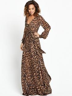 4f286969171d myleene-klass-leopard-maxi-dress | moda in 2019 | Animal print ...