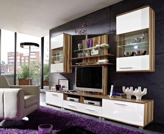 Wohnzimmerwand Massiv ~ Solid wohnwand eiche massiv wohnzimmer pinterest