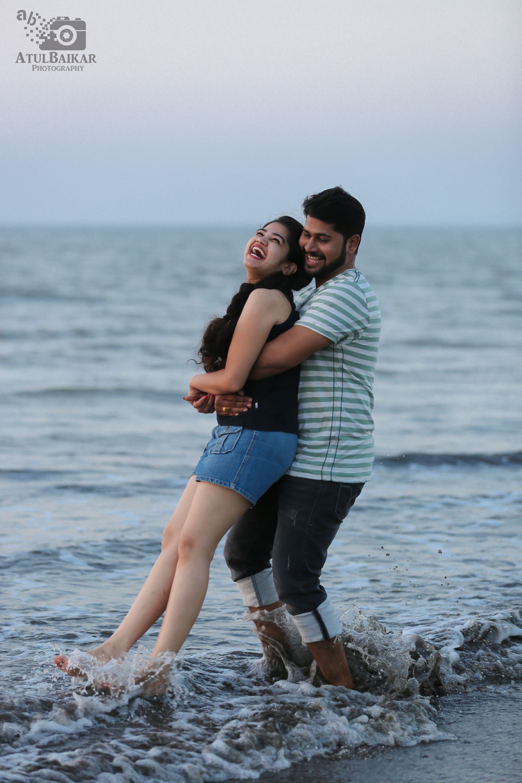 Beachside Prewedding Of Priyanka And Sanket