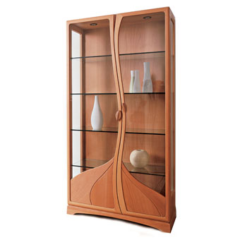 Superior Curio Cabinets By House Of Denmark | Modern And Contemporary Furniture