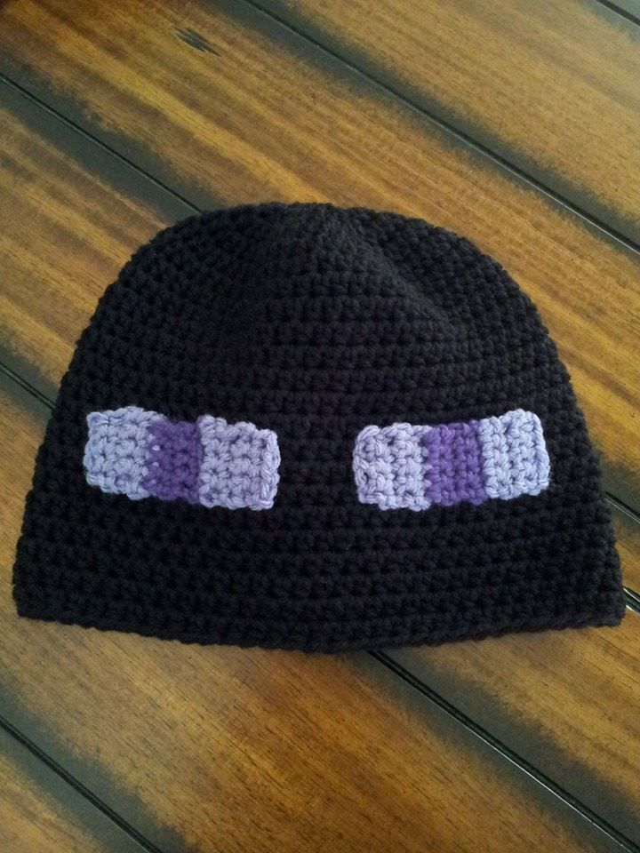 Minecraft Enderman Hat Pattern Available Or Message To Have One Made