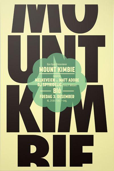 Mount Kimbie by Are Kleivan