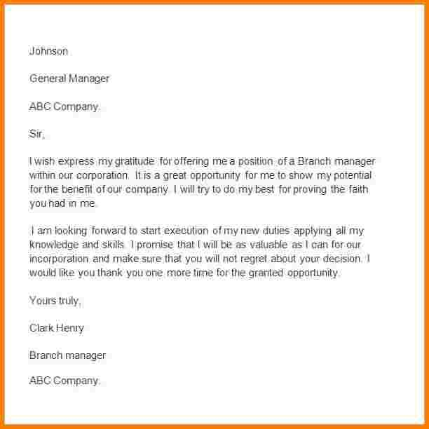 sample thank you letter to boss for support