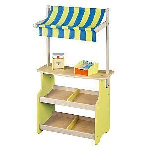 wooden market stall asda future toys pinterest. Black Bedroom Furniture Sets. Home Design Ideas