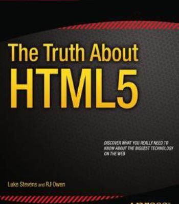 The Truth About Html5 Pdf Book Format Web Development