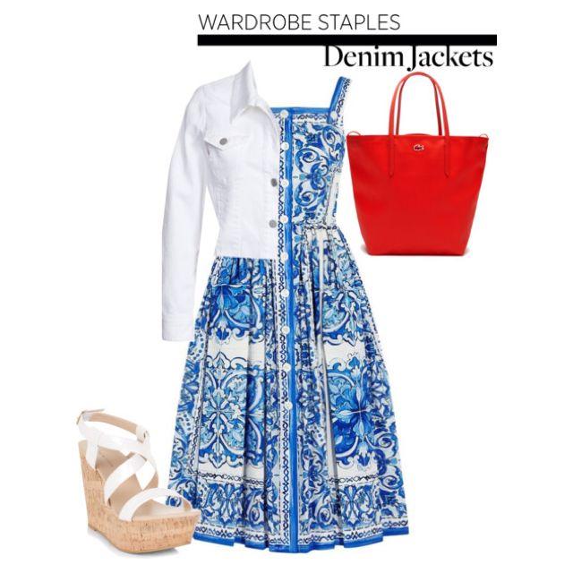 Wardrobe Staple: Denim Jackets by louise-frierson