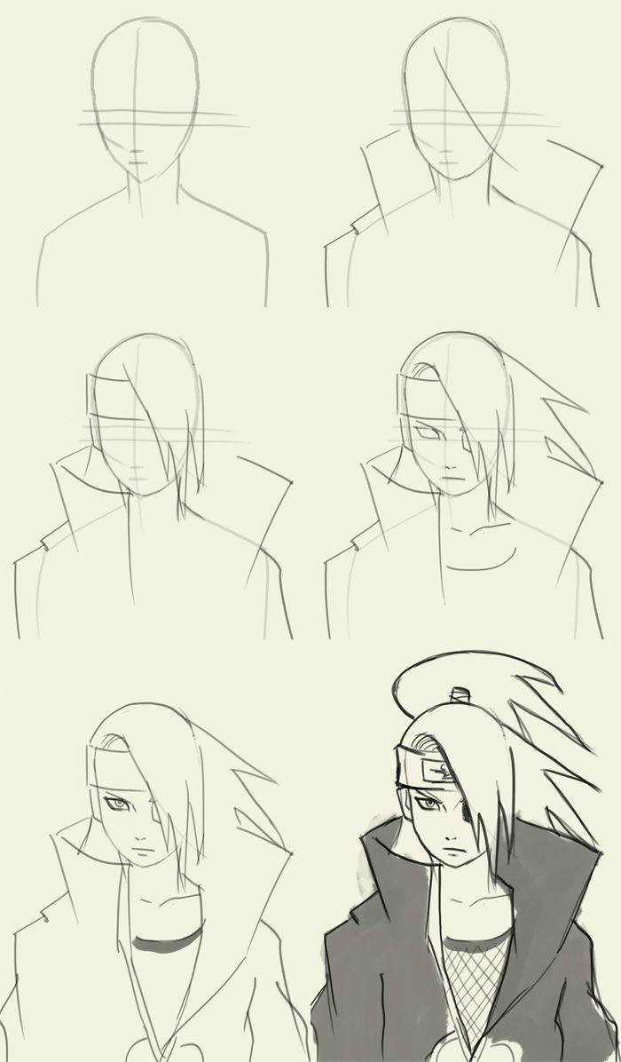 Little Sasuke By Yaumil Putra Naruto Sketch
