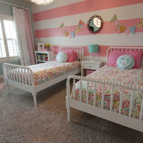 Online Client Design   Young Bedroom   Traditional   Kids   Dallas   Casey  Grace Design