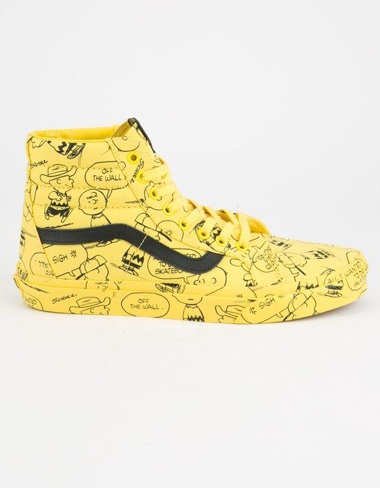 vans x peanuts sk8-hi reissue schoenen