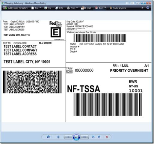 picture about Printable Fedex Shipping Labels identified as Pin via Calvin Frank Jenkinsjr upon Assignments towards Check out Send
