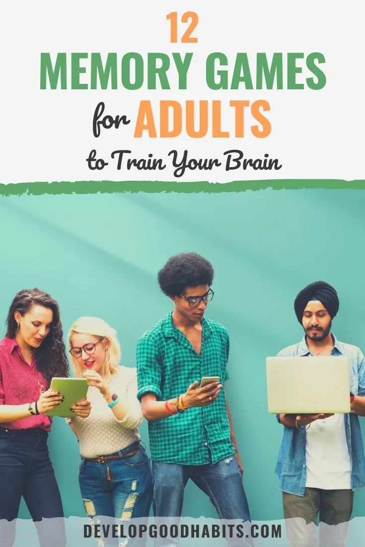 12 Memory Games for Adults to Train Your Brain in 2020