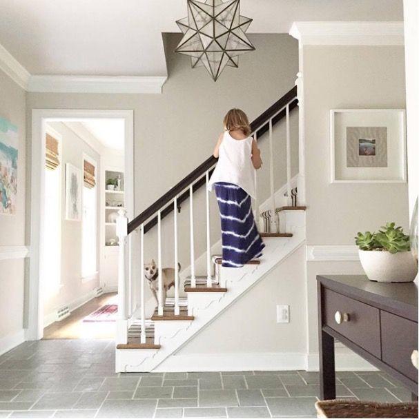23 Best Beige Living Room Design Ideas For 2019: Benjamin Moore Edgecomb Grey