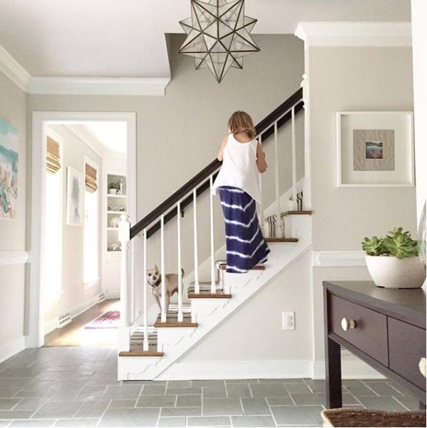 Benjamin Moore Edgecomb Grey Living Room Paint House Colors Room Colors