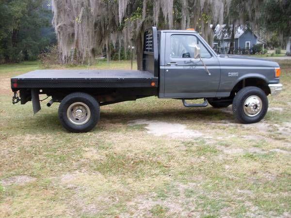 1991 F250 Diesel F250 Diesel Truck Flatbeds Ford Trucks