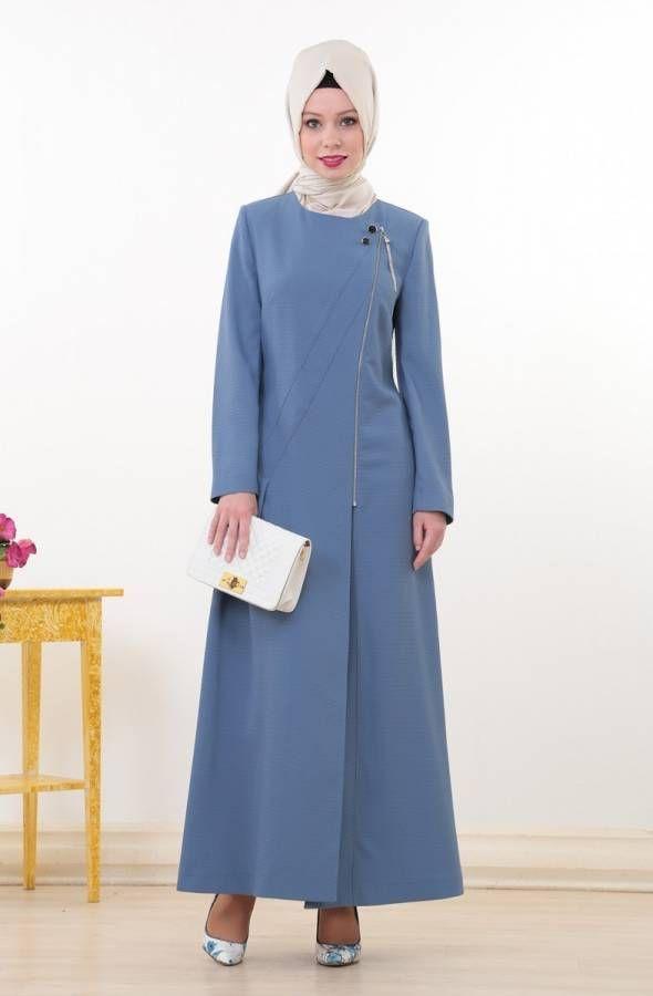 Doque Giyim Tunik Pantolon Elbise Etek Hirka Ve Ferace Dengan Gambar Model Baju Wanita Model Pakaian Hijab