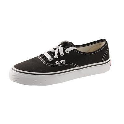 Vans 8541 Boys Black Canvas Front Lace Fashion Sneakers Shoes 2.5 BHFO https://t.co/2m2AOBRR2Q https://t.co/MJv77vGFoV