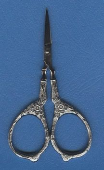 4 Inch Tudor Rose scissors.