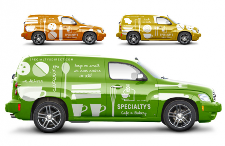Specialtys Cafe & Bakery Branding | Vehicle Wraps | Bakery