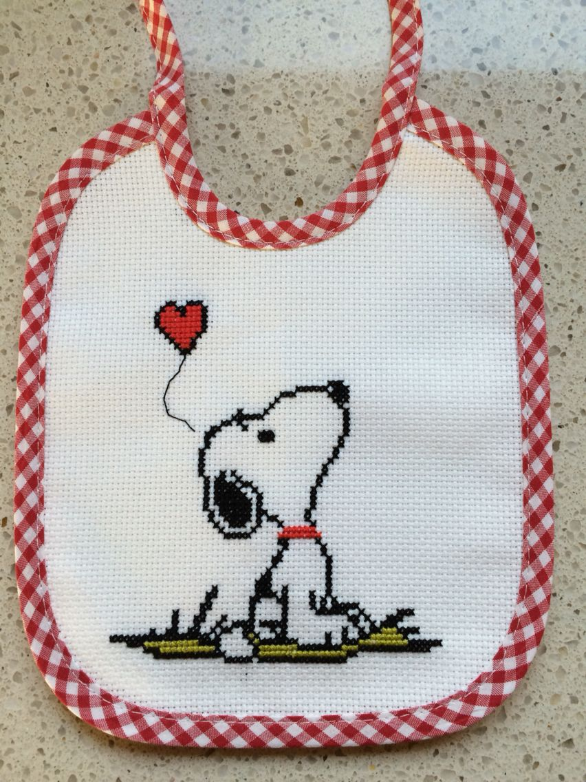 Cuadros De Punto De Cruz Para Bebes Snoopy Bordado Cross Stitch Baby Cross Stitch Y Cross Stitch