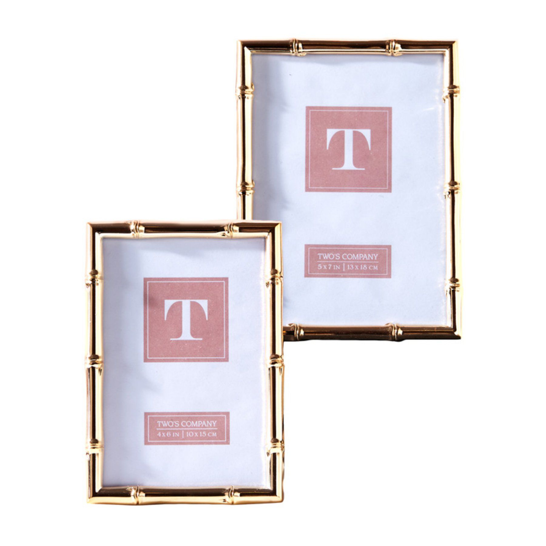 f96522472bef Passport Collection Rose Gold Picture Frame - Set of 2 - 51446